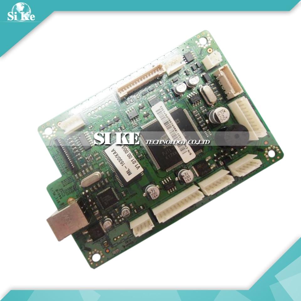 Laser Printer Main Board For Samsung ML-1630 ML1630 ML 1630 Formatter Board Mainboard Logic Board black laser printer bottle toner powder dust refill kit for samsung ml 1210d3 ml 1010 ml 1220 ml 1250 ml 1430 ml 1210 cartridge