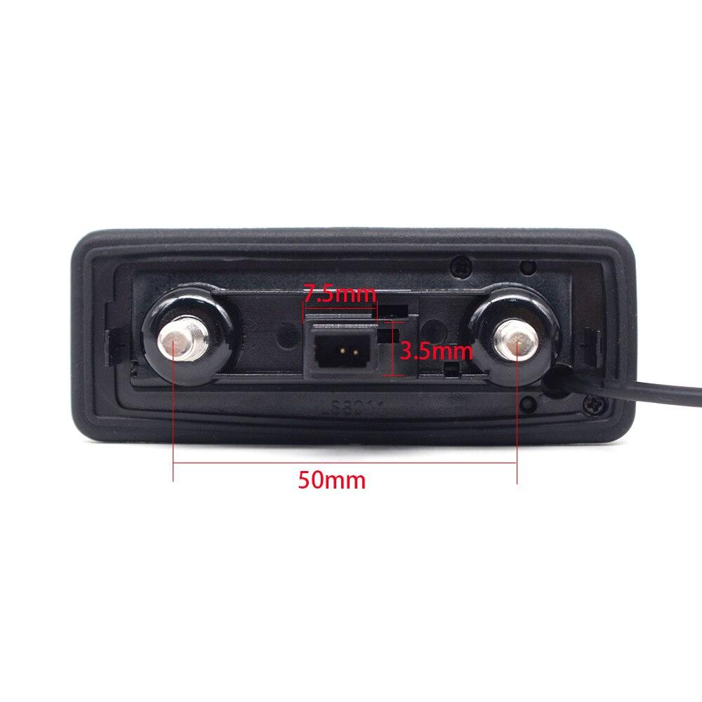 Auto Rückansicht Kamera für Skoda Roomster Fabia Octavia Yeti superb für Audi Dynamische Flugbahn Auto Reverse Stamm Griff Kamera