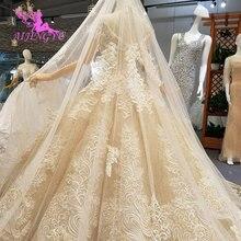 AIJINGYU Viktorianischen Hochzeit Kleid Kleider Korsett Großhandel Einfache Kurze Vintage Modest Kleid Günstige Hochzeit Kleider weibliche