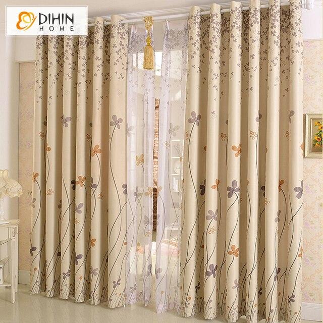 dihin 1 pc kant en klare bedrukt bestsellers gordijnen voor de woonkamer pure gordijn venster draperien