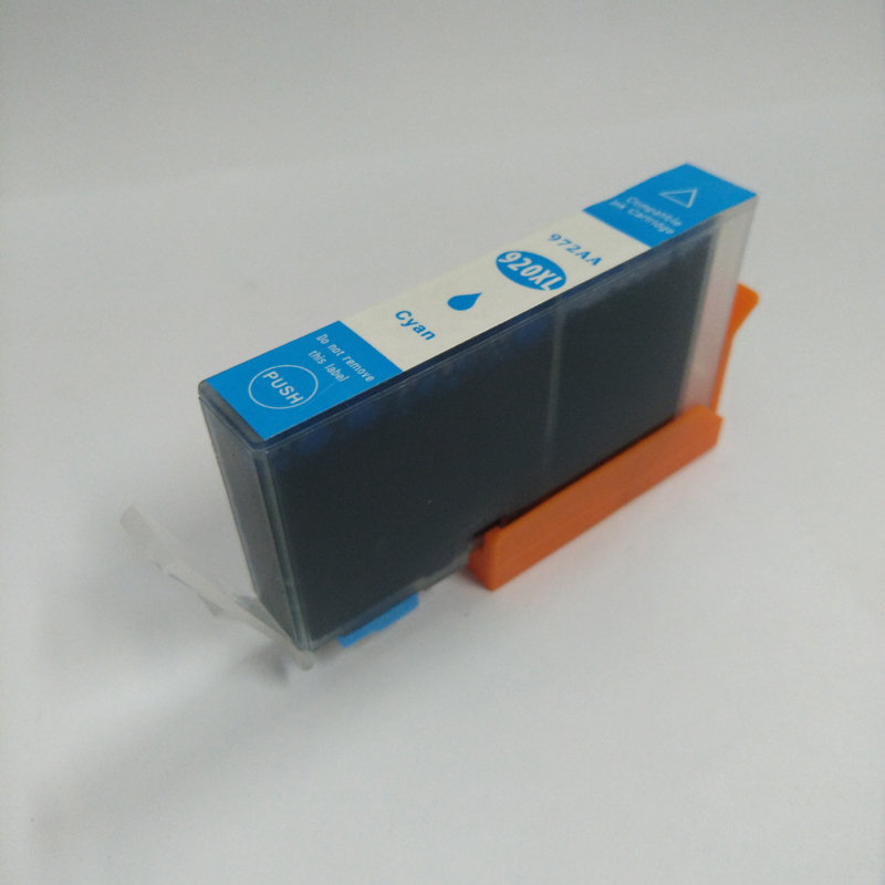 1pcs Cyan 920 xl Ink Cartridge For HP 920xl for hp Officejet 6000 /6500/6500 /6500A /7000/7500/7500A with chip