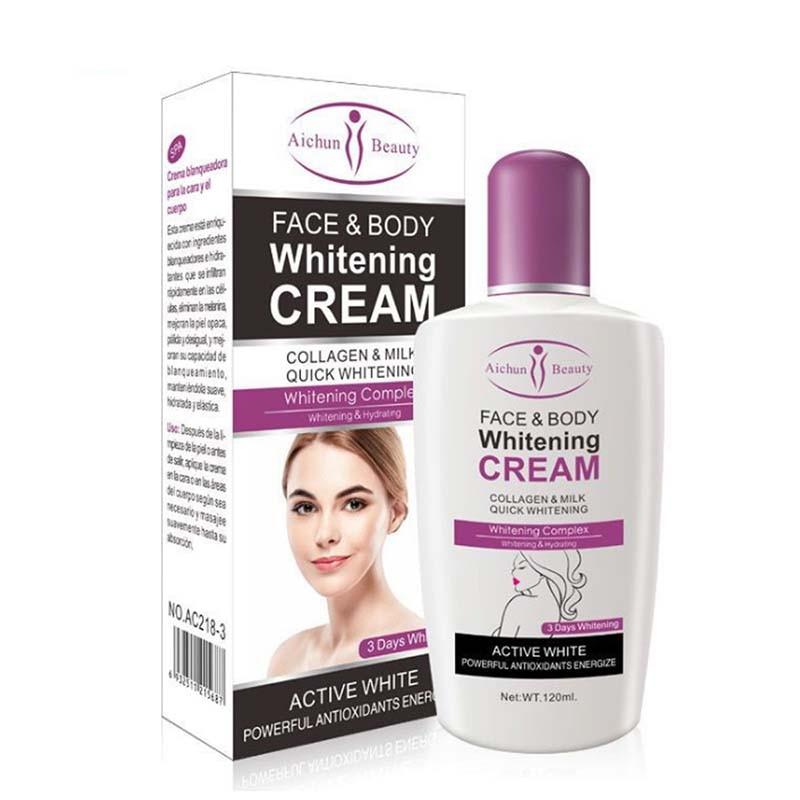 Beauty Face Body Whitening Cream Fast For Dark Skin Bleaching Knee Elbow Inner Thigh HJL2018 For Body Care