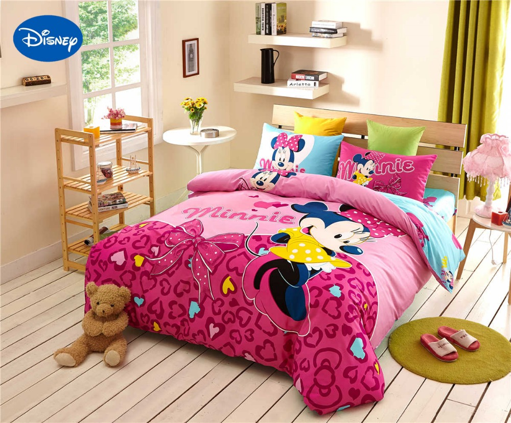 Popular Minnie Mouse Bedding-Buy Cheap Minnie Mouse Bedding lots ...