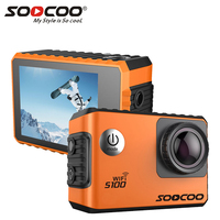 SOOCOO S100 Pro Wifi 4K Action Camera Voice Control 2 0 Touch Screen With Gyro And