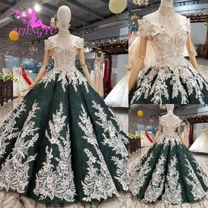 Image 2 - AIJINGYU คลอดบุตรงานแต่งงานชุดเดรสชุดใหม่ Boho Chic สวมใส่ Gowns Vintage แขนยาว