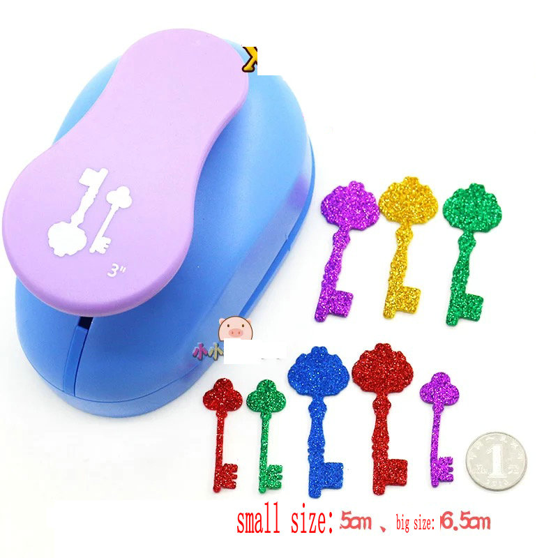 Shop For Cheap 3key Paper Foam Punch To Cut 2pcs Office & School Supplies craft Punch For Greeting Card Handmade Scrapbook Handmade Punches Lock Opener Diy Toy Punch Careful Calculation And Strict Budgeting