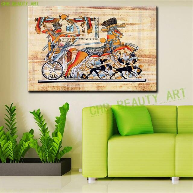 Tienda Online Egipto Faraón pintura al óleo abstracta de la lona ...