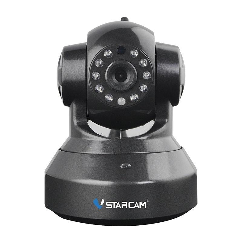 Vstarcam C7837WIP Ip Camera 720P HD Wifi Wireless Home Surveillance Alarm Black