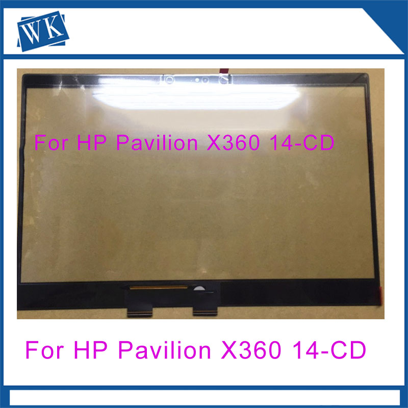 Touch Screen Glass for HP For HP Pavilion X360 14-CD 14-CD0000TU 14-CD0003TU 14-CD0006TU HD LaptopsTouch Screen Glass for HP For HP Pavilion X360 14-CD 14-CD0000TU 14-CD0003TU 14-CD0006TU HD Laptops