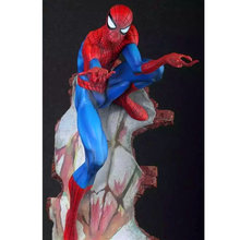 50 cm 18 polegadas The Amazing SpiderMan Action Figure Brinquedos Modelo Boneca Spider Man Cenas Ver Anime Figura Caçoa o Presente h205(China)