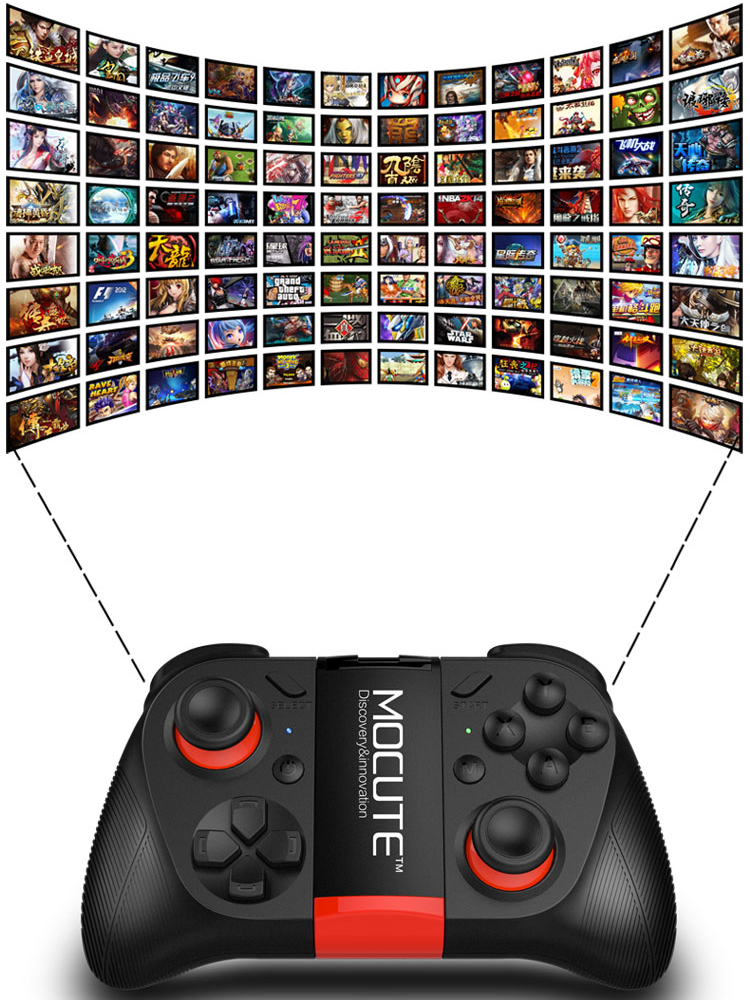 Bluetooth Gamepad 050 Wireless Game Controller Joystick For Android ISO Smartphones Windows TV Box Tablet PC VR Glasses 2