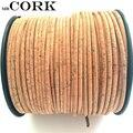 Corcho Natural 10 metros Original portugués redondo 3mm 5mm Cordón de corcho, cable plano 5mm 10mm artesanal, natural vegana 900