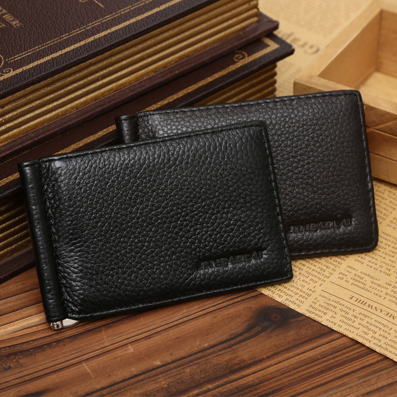 grampo grampos de aço inoxidável Feature : Attractive Design, fashion And Elegant Wallet