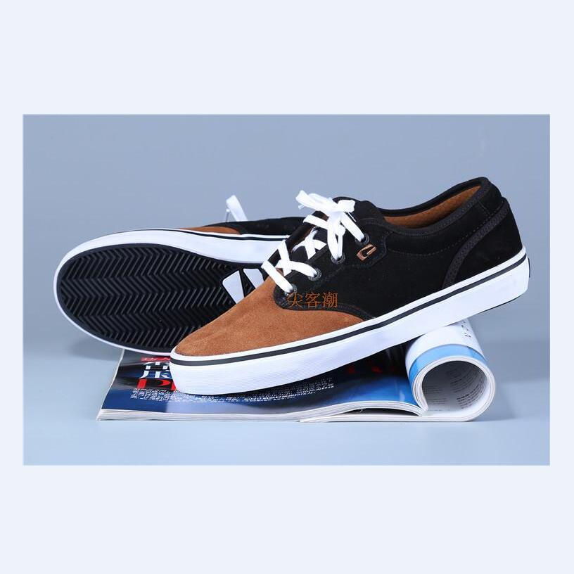 ФОТО 2017 Size US6-11 Globe Spring New Arrival kids board shoes for Street wear and Hard-Wearing Shoes for SK8ER and school wear