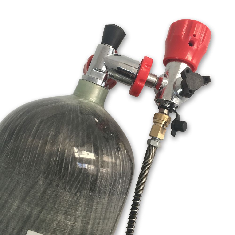 Image 4 - AC168101 Shipping From RUS Whole Set Paintball Tank PCP Air Refile Composited Carbon Fiber Cylinder with Valve Filling Station-in Paintball Accessories from Sports & Entertainment