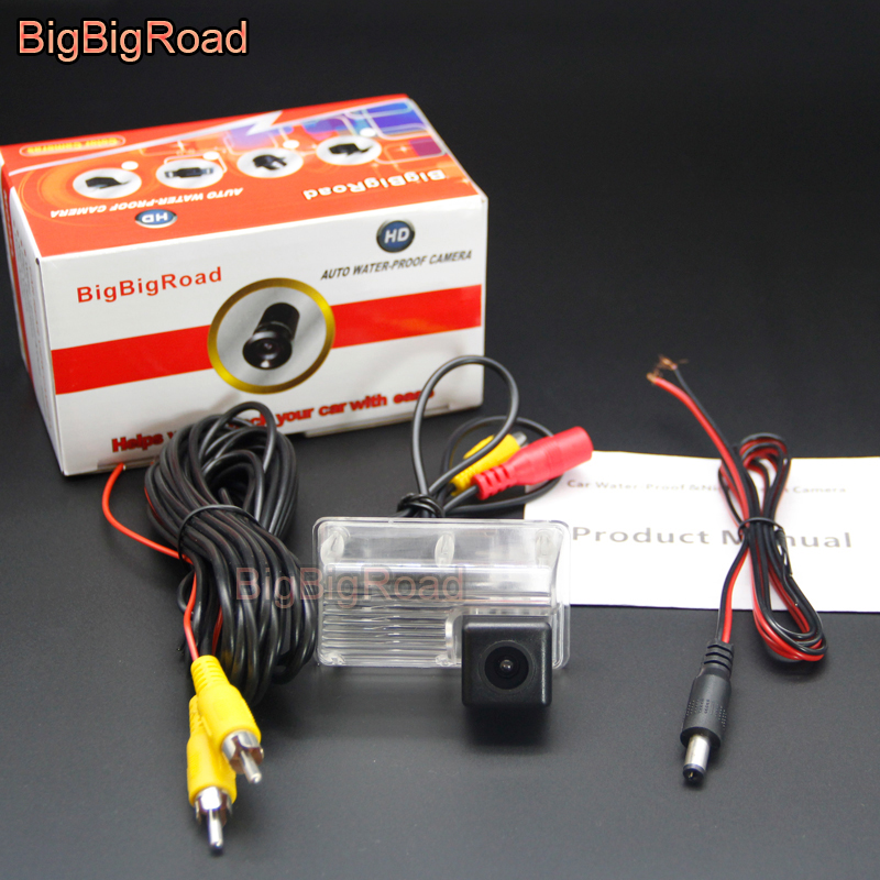 BigBigRoad For Toyota Corolla EX E120 E130 9th Generation / Car Rear View Camera / Back up Reversing Camera / HD CCD image