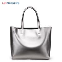 Роскошные сумки Для женщин сумки дизайнер Большой Для женщин сумки на плечо из натуральной кожи модные женские сумки женский серебряный су
