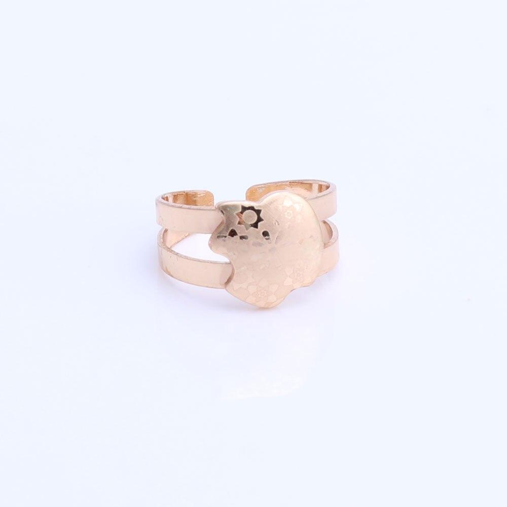 Guldfärg baby smycken set gåva barn smycken set barn smycken ring - Märkessmycken - Foto 5
