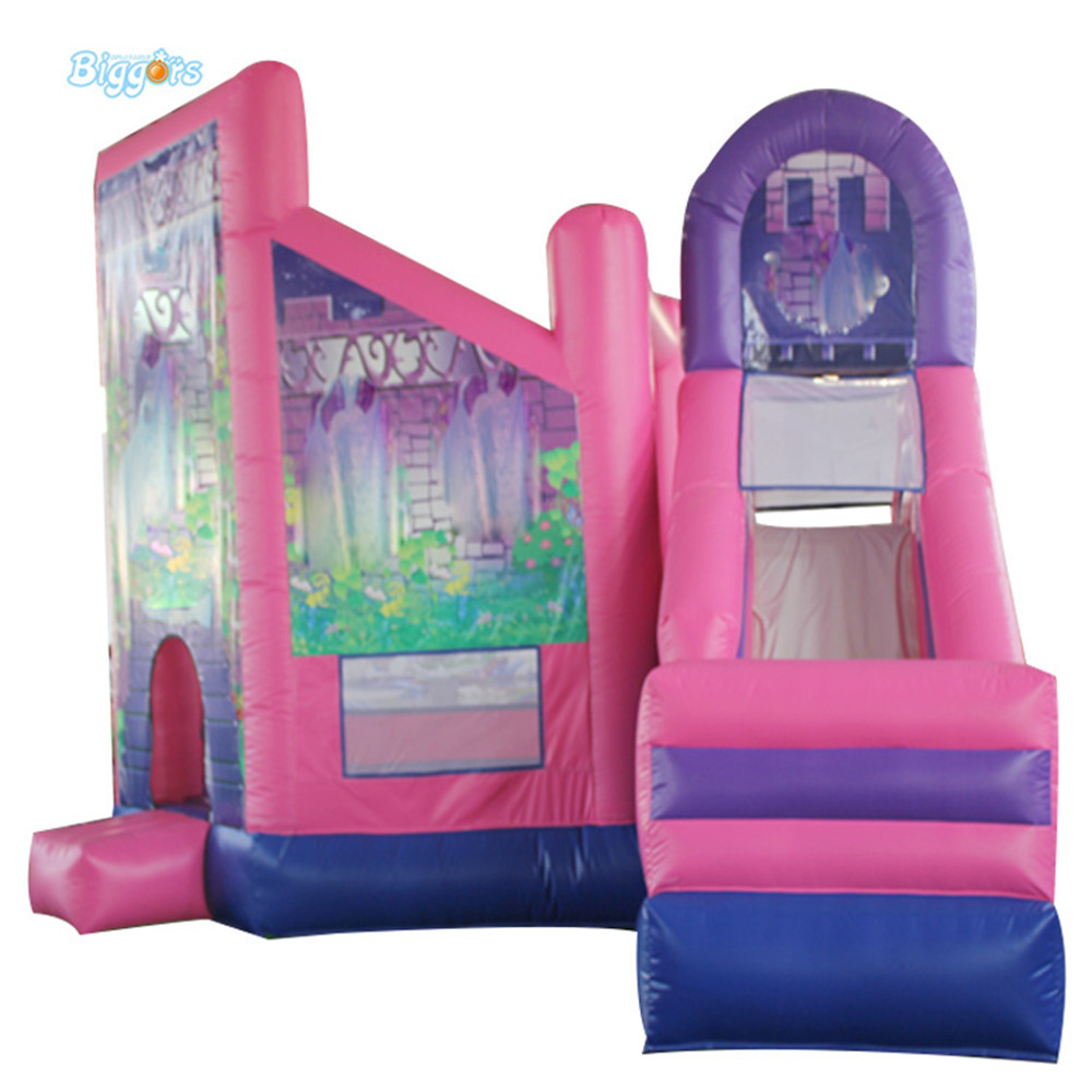 Commercial inflatable castle bouncy castle jump bounce house with blowers цена