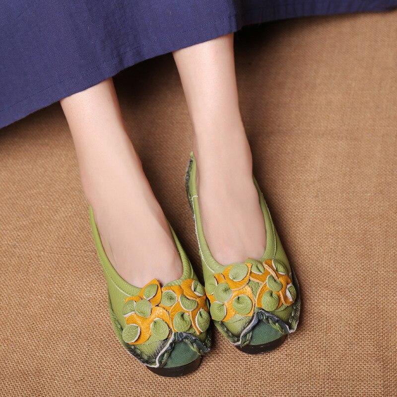 Ventes Noir jaune Cuir Chaussures Clair vert Mocassins En Chaudes Sur Black bleu Femmes Confort argent Appartements Casual rouge Véritable Slip blue raAqr74w