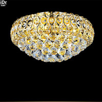Blue Ocean Grade Crystal Lamp Modern Crystal Lamp Bedroom Lamp Lighting Aisle Villa Ceiling Lights Lmy