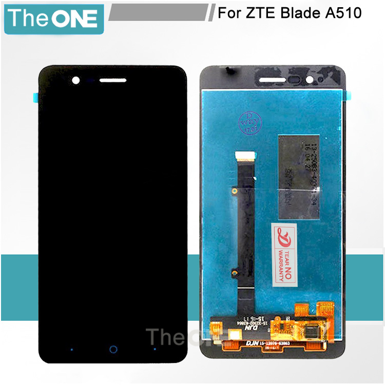 5.0 Black LCD+TP for ZTE Blade A510 BA510 BA510C LCD Display+Touch Screen Digitizer Assembly Replacement Free Shipping