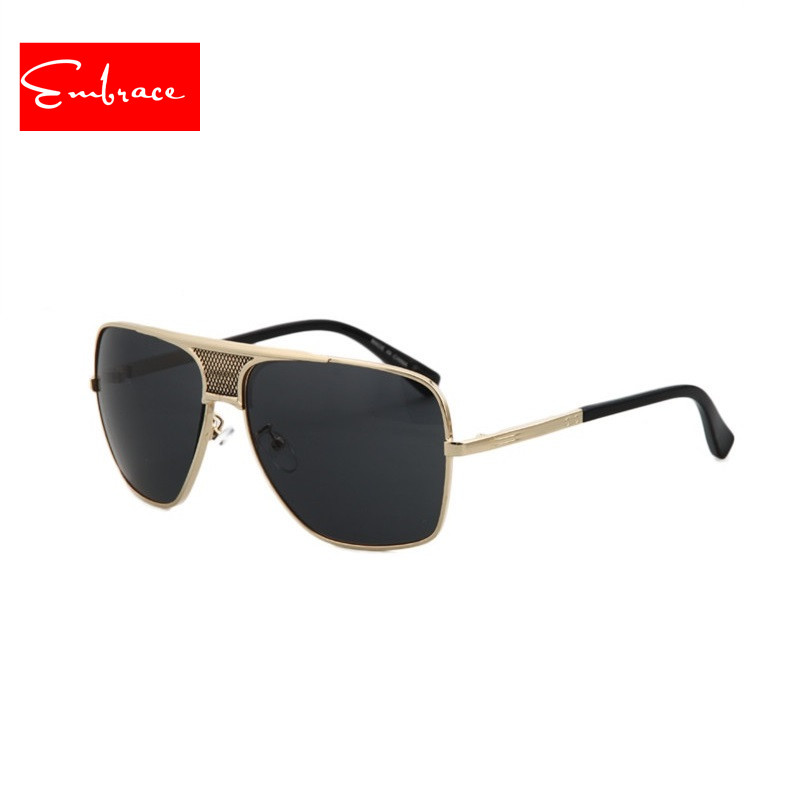 4a819b773c0fd 2016 New Shield Style With Big Lenses Sunglasses Women Men Brand Designer  Aviator and drivering SunGlasses Vintage Oculos De Sol-in Sunglasses from  Apparel ...