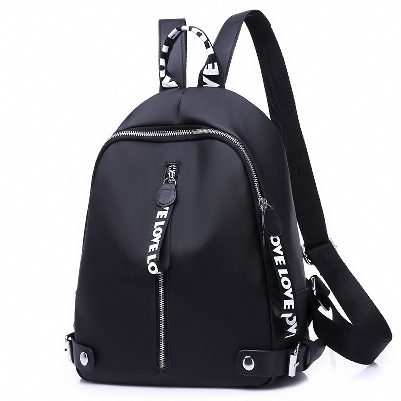 Mummy Bag Ladies Outdoor Diaper Bag Fashion Ribbon Casual Black Female Travel Backpack Baby Care Nursing Nappy Bags MBG0051