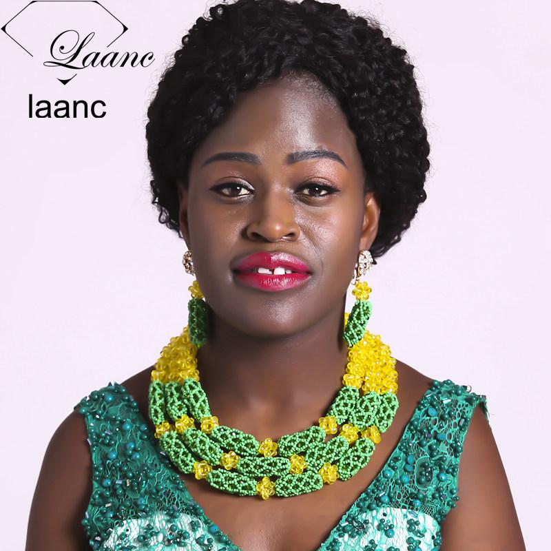 03-African Beads Jewelry Set (11)
