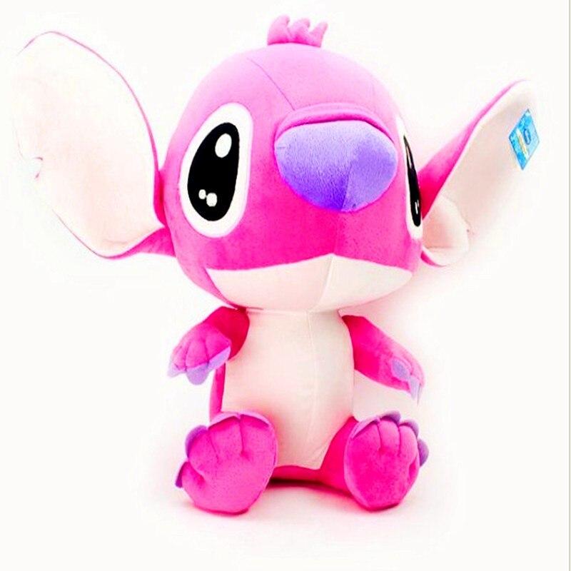Hot 20cm mini Stitch TV Stuffed Soft Plush Toys Cartoon Toy For Kids Baby Boys Girls Free Shipiping