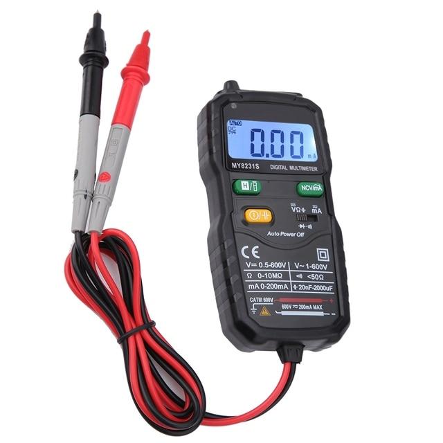 2000 Counts Digital Multimeter Automatic Intelligent Digital Electrician Meter Multimeter