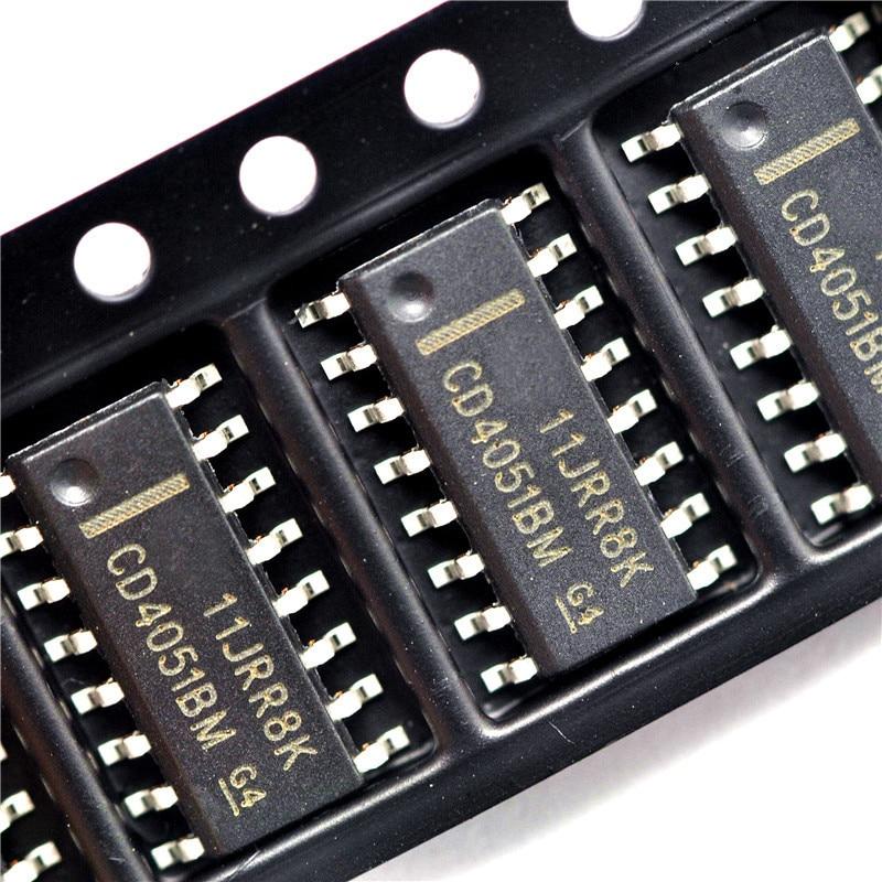 10pcs/lot CD4051BM96 CD4051BM CD4051 SOP-16 In Stock