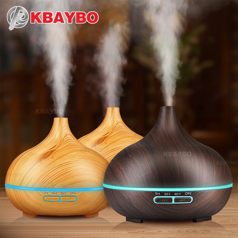KBAYBO Aroma Air Humidifier Essential Diffuser Purifier Mist Maker Natural Plant Pure Essential Oils For Home