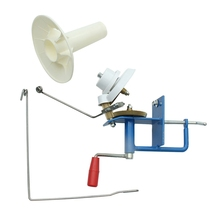 Practical Large Metal Yarn Fiber String Ball Wool Winder Holder Winder Fiber Hand Operated Cable Winder Machine 10oz Heavy Duty