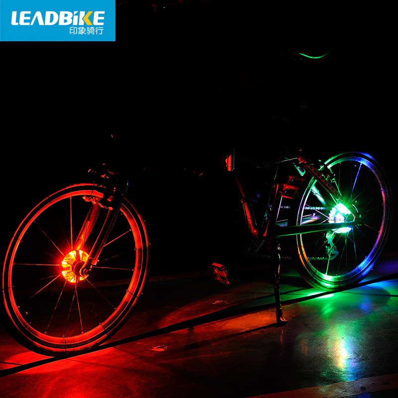 MZYRH Bicycle Cycling Hubs Light Bike Front/Tail Light Led Spoke Wheel Warning Light Waterproof Bike Accessories BCL-199