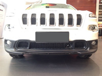 Accessories ABS Before Plating Decorative Frame Under The Outlet Under The Grille Trim Frame For Jeep
