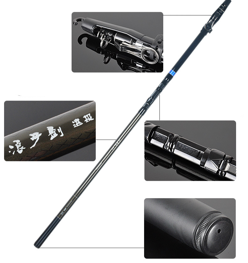 New arrival long shot cast pole 1 PCS/Lot 3.6/3.9/4.2 m distance throw rod telescopic fishing rods