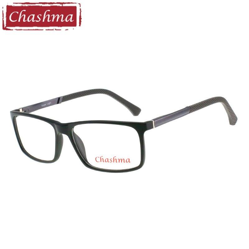 baf7549dd6 Chashma ojo de la marca gafas de marcos para hombres grandes gafas hombres  amplia óptica gafas TR 90 óptico de luz gafas de marco de la Oficina trabajo