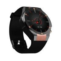 Montre Smart Watch H2 MTK6580 Vie Étanche Quad Core GPS Wifi 3G Coeur taux 500 W 1G RAM 16G ROM Bluetooth Pour iphone X Android IOS