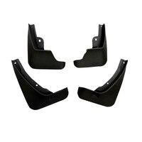 4PCS Plastic Plastic Front Rear Mudflaps Mud Fender Mud Splash Guard Trim For Renault Captur Kaptur