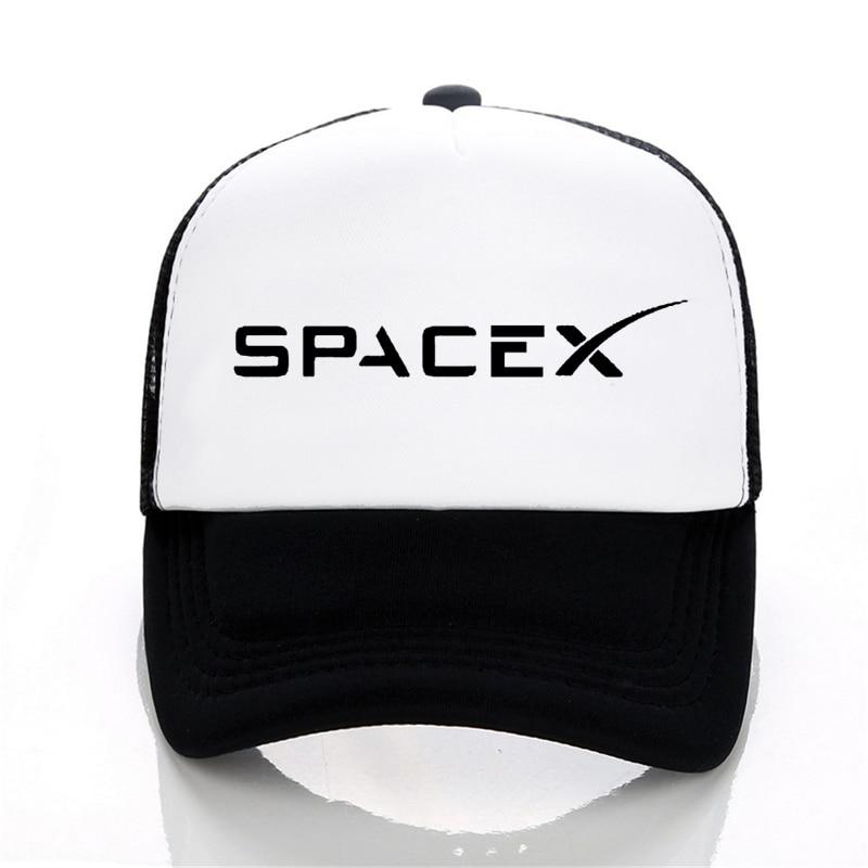 Spacex UFO Baseball Caps Fashion Summer