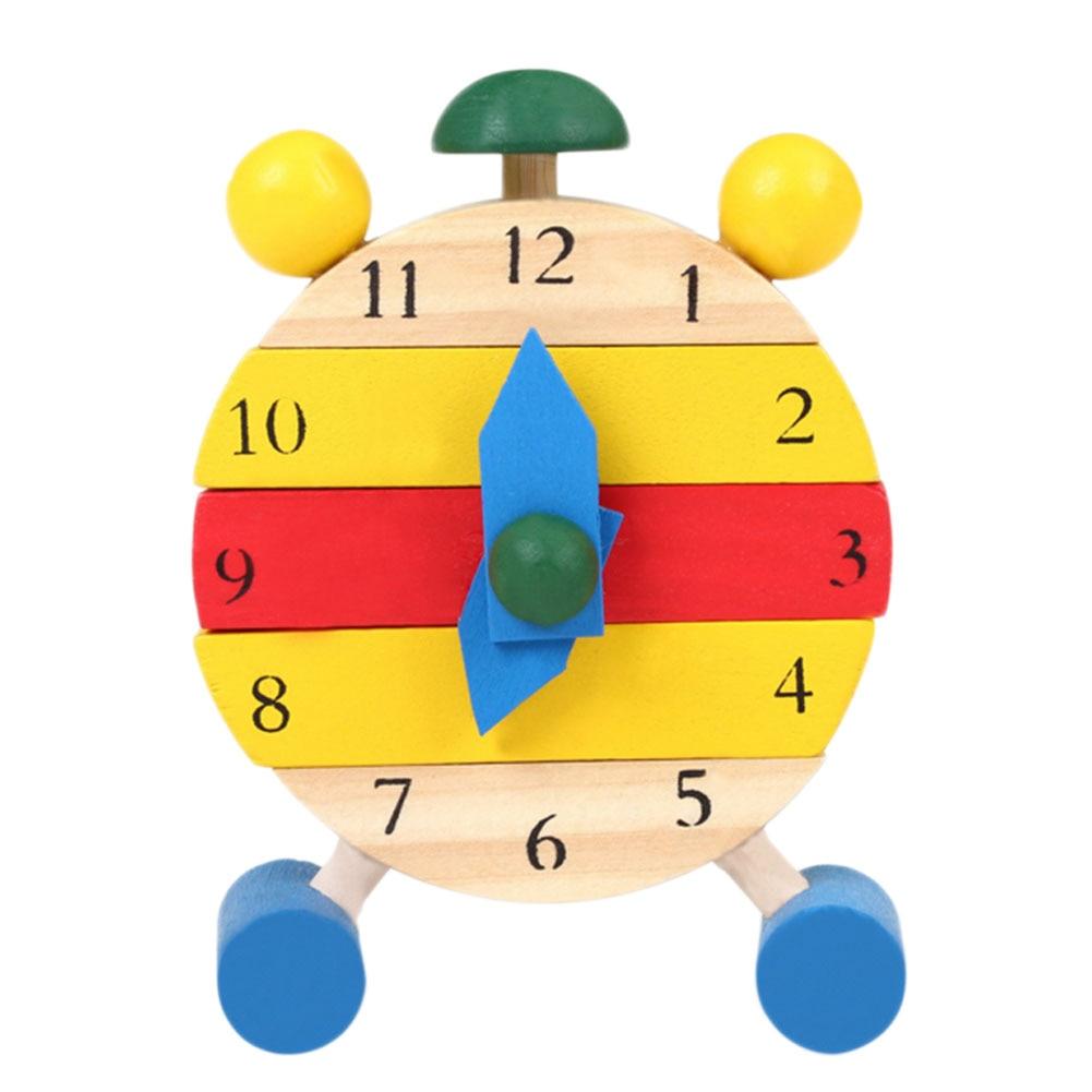 1 компл. Детские деревянные развивающие цифровой познавательная обучения DIY часы Игрушечные лошадки часы модель головоломки Паззлы подарки...