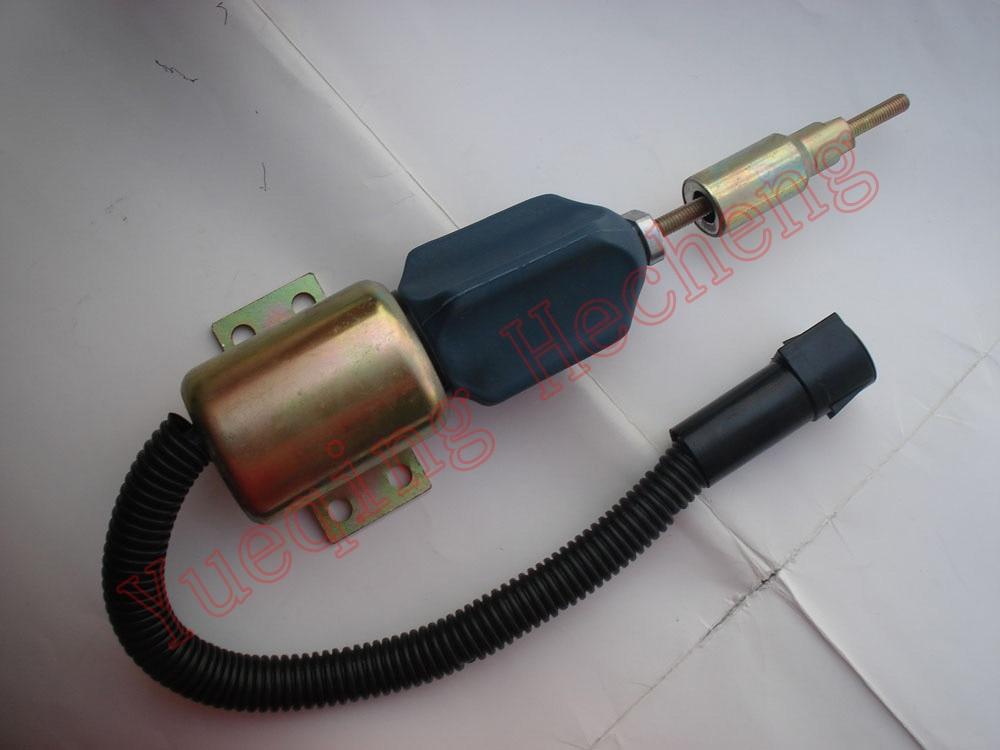 Solenoid Valve 3354943 961000780024 TRA130805, 2SO130764,2TO130764 12V 3924450 2001es 12 fuel shutdown solenoid valve for cummins hitachi