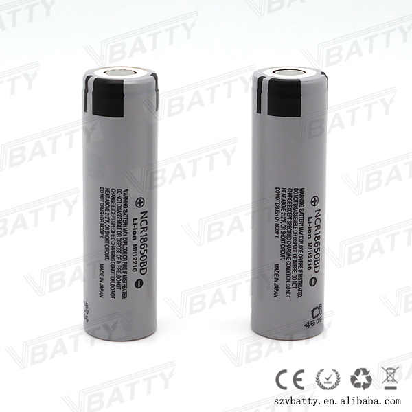 Original 18650 NCR18650BD NCR18650 3100mah 3.7V NCR Battery with flap top 18650 battery 3.7V LI-ion rechargeable(1 pc/lot)