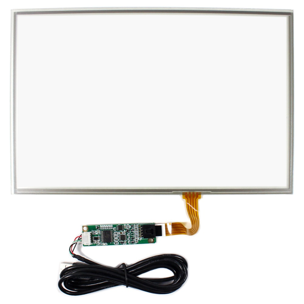 12.1inch 4-wire Resistive Touch Panel Work For 1280x800 Controller Card 15 4inch 4 wire resistive touch panel for 15 4inch 1280x800 1400x800 lcd screen
