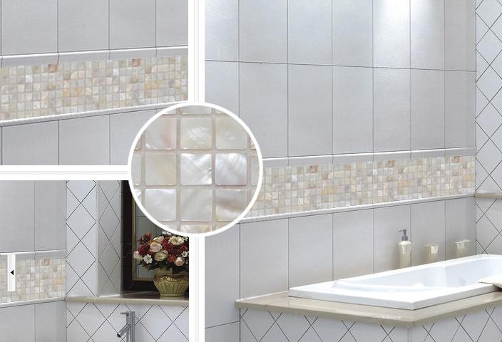 Great Home Decoration Shell Mosaic Oyster Mosaic Luster Mother Of Pearl Tiles  Backsplash Kitchen Bathroom Mirror Tile Backspalsh Tile In Wind Chimes U0026  Hanging ...