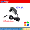 DC 12V 2A Monitor Power Supply Surveillance Camera Waterproof Power Adapter For Ip Camera /AHD Camera/CCTV Camera