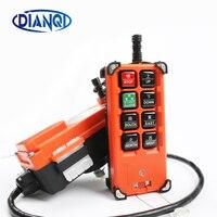 Industrial remote controller Hoist Crane Control Lift Crane 1 transmitter + 1 receiver 220V 380V 12V 24V MHZ
