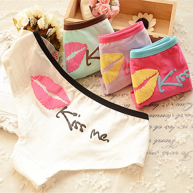 Mini order  $7 2014 Hot Brand Sexy kiss Calcinha Fio Dental  Female Underwear Women Cotton Women's  Panties Breathable  Briefs