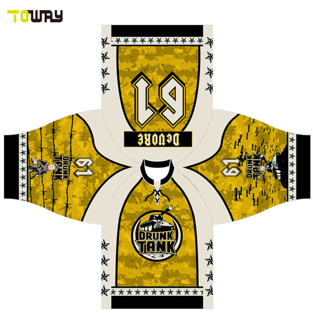 funny sublimated hockey jersey custom made-in Hockey Jerseys from ... 245b4f03eef